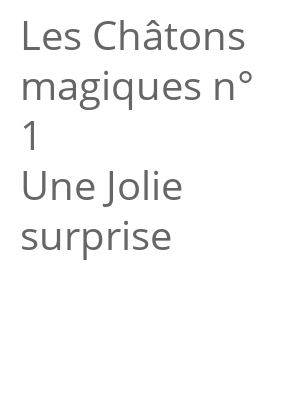 """Afficher """"Les Châtons magiques<br /> Une Jolie surprise"""""""
